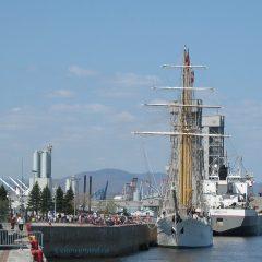 Dans le Vieux-Port de Québec, la pointe à Carcy est un lieu patrimonial très apprécié des touristes comme des citoyens de la capitale. Photo: Yvan Chouinard