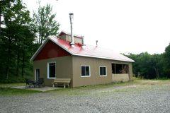 La cabane de M. Marcoux. Photo Bernard Genest.