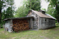 La cabane à sucre de Daniel Poulin et Suzanne Doyon. Photo Bernard Genest.