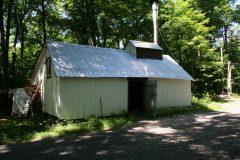 La cabane à sucre de M. Fecteau. Photo Bernard Genest.