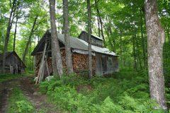 La cabane actuelle de M. Maheu. Photo Bernard Genest.