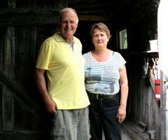 Daniel Poulin et Suzanne Doyon. Photo Bernard Genest.