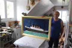 Gérald Mailloux, sculpteur (Baie-Saint-Paul)