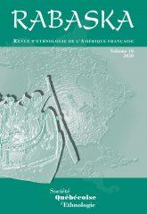 Revue Rabaska, vol. 18, 2020, Couverture