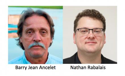 Portraits de Barry Jean Ancelet et de Nathan Rabalais