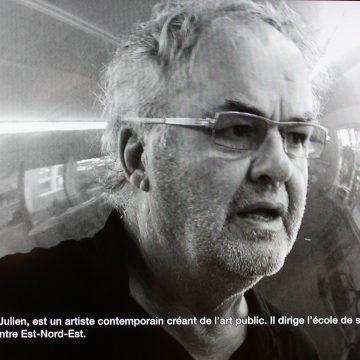 Portrait de Pierre Bourgault, artiste en art actuel